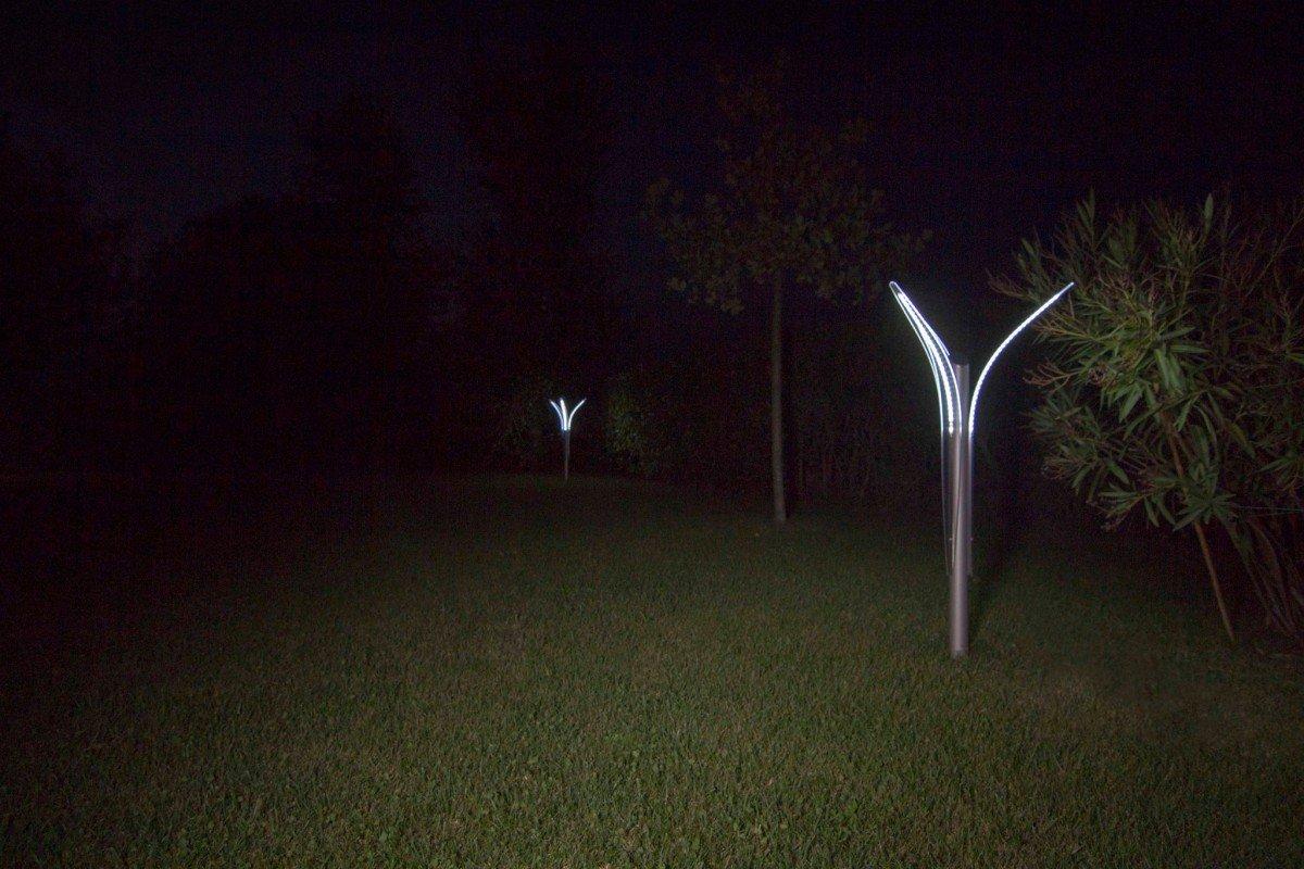 Illuminazione alberi, piante e fiori   illuminazione giardino