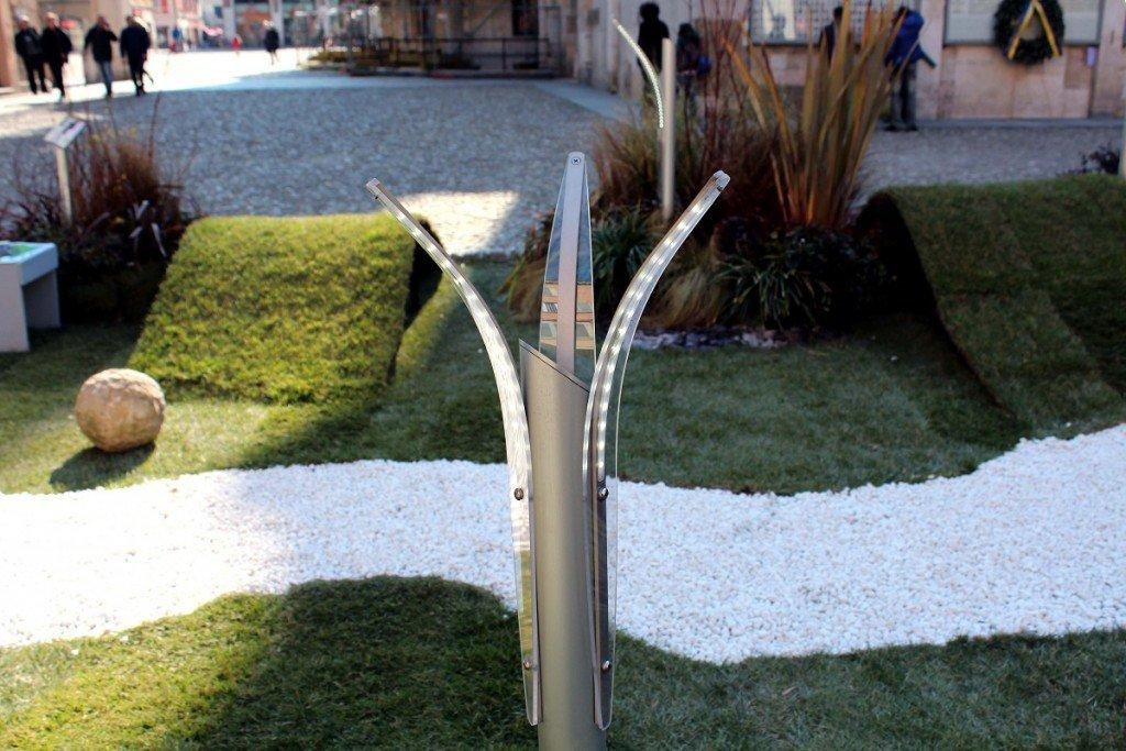 Illuminazione vialetti in giardini ed ingressi a led - Viali da giardino ...
