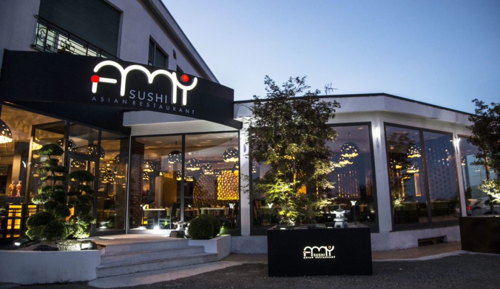 Applique led lampade da parete moderne illuminazione for L esterno del ristorante sinonimo