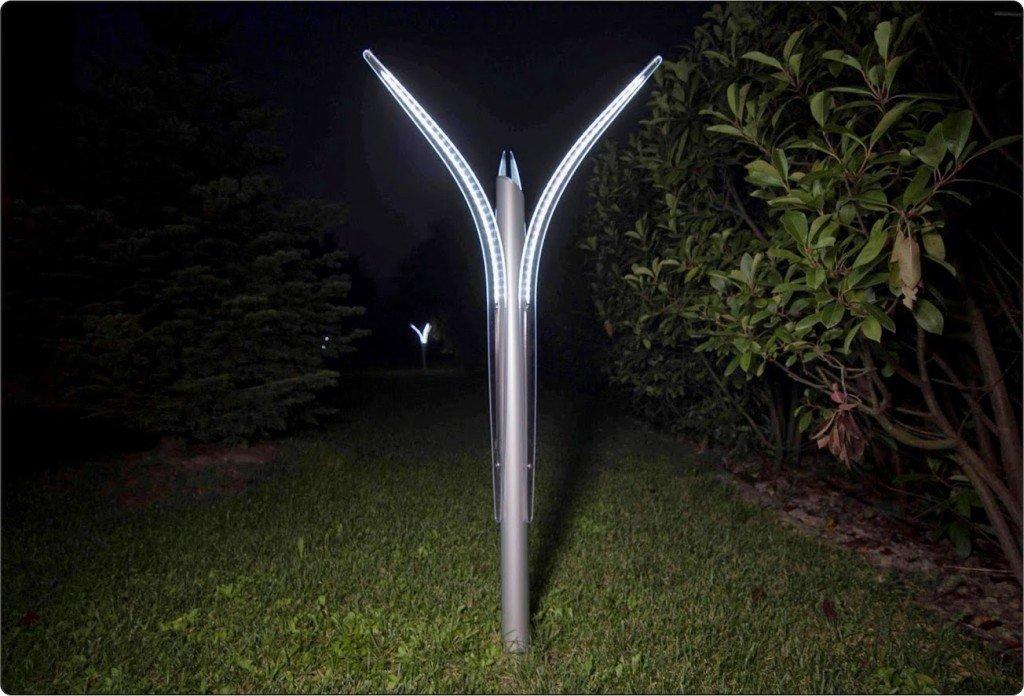 Illuminazione giardino a luci led da esterno di design for Leroy merlin illuminazione esterno