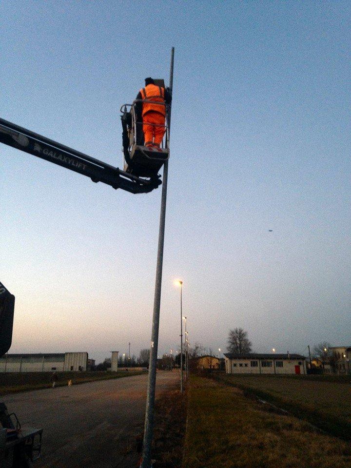 installazione illuminazione stradale led