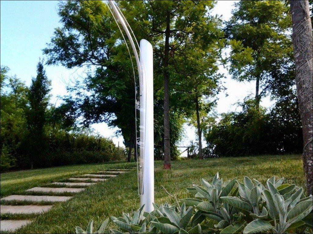Illuminazione da giardino a led di design minimalism for Giardini moderni design