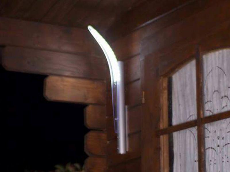 Applique illuminazione giardino led illuminazione giardino - Luci da parete led ...
