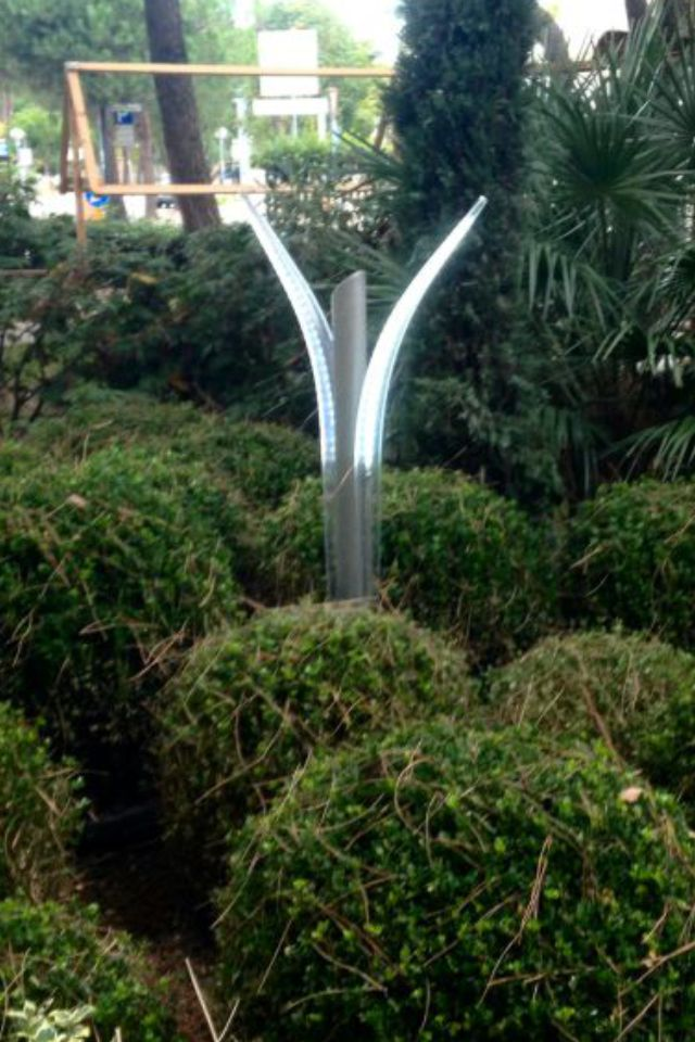 Lampioncini da giardino a led 400 lumen mini minimalism ii - Lampioni giardino ...