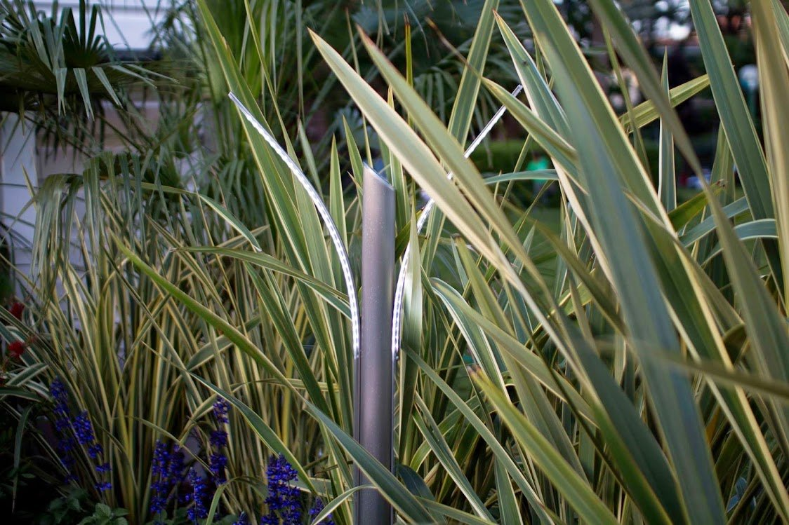 Lampade da giardino a led di design illuminazione giardino - Lampade da muro design ...
