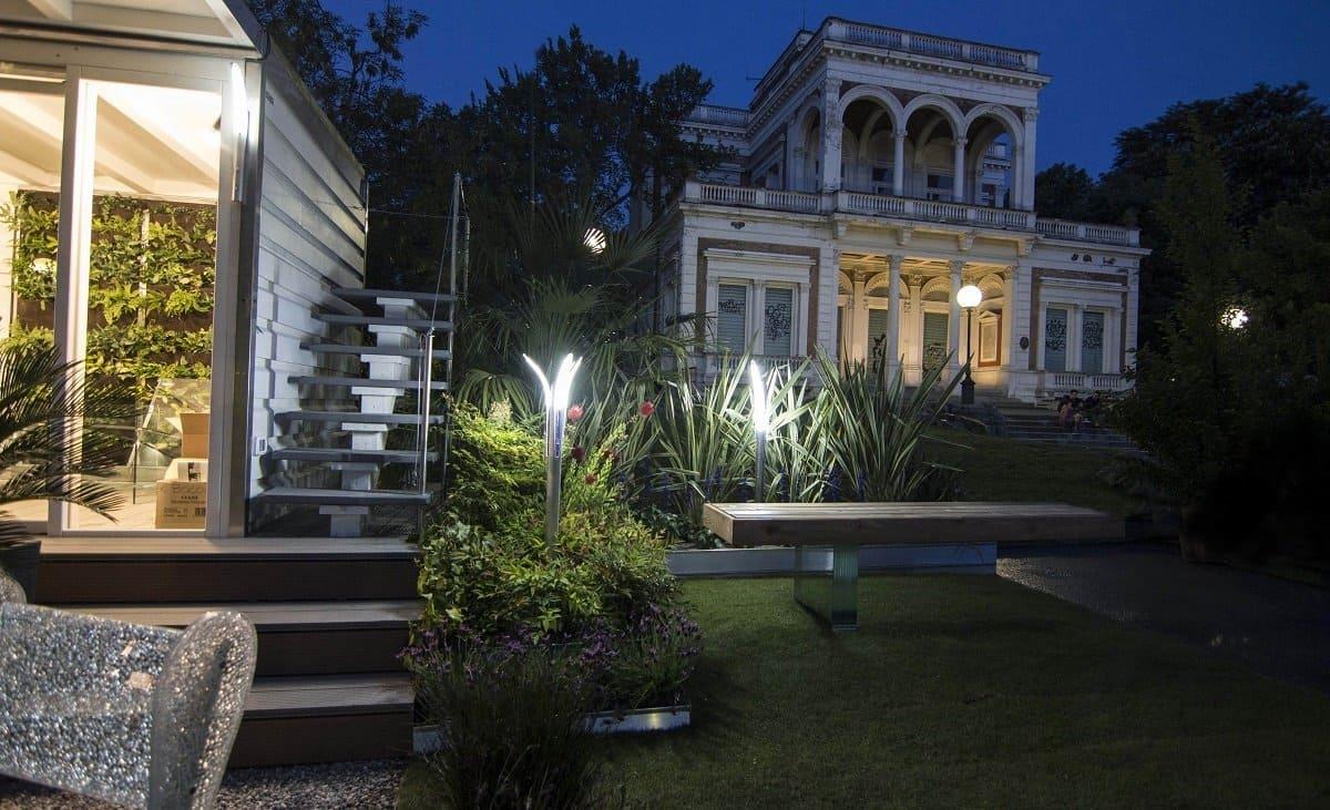 Illuminazione giardini esterno villa illuminazione giardino - Giardini per ville ...